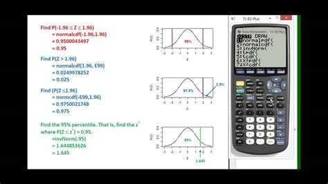 Finding probabilities and percentiles with a standard