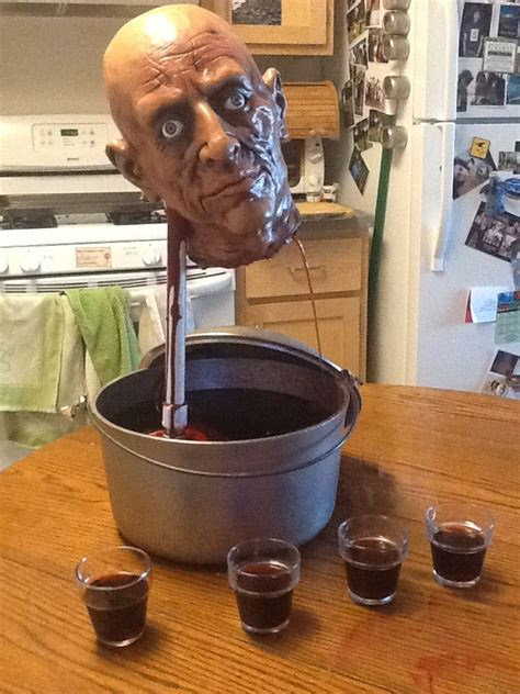Decapitated Head Drinking Fountain