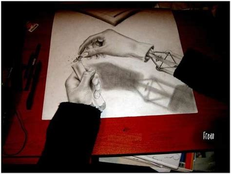 Incredible Yet Scary 3D Drawings By 17-Year Old Fredo