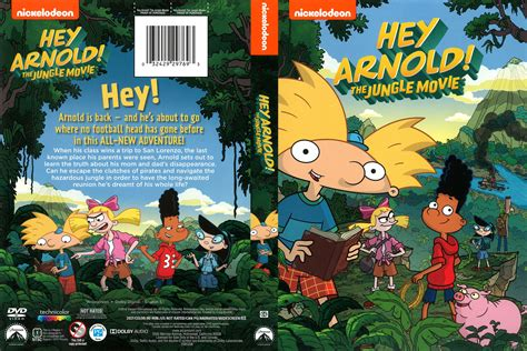 Nickelodeon Hey Arnold! The Jungle Movie DVD Cover | Cover