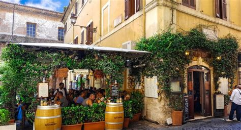 Top 10 Restaurants in Trastevere, Rome   The Abroad Guide