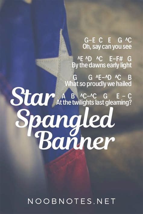 Star Spangled Banner - Traditional [video]   Easy piano