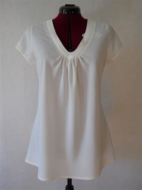 White bias cut blouse – Sewing Projects | BurdaStyle