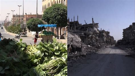 Syria's Raqqa before, during and after ISIL's 'caliphate