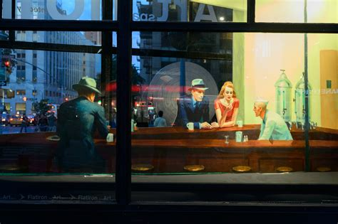 Famous 'Nighthawks' Painting Has Been Recreated As A 3D