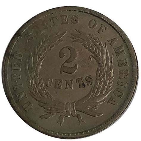 1864 Two cent Coin by Joshua Kodner - 1677058 | Bidsquare