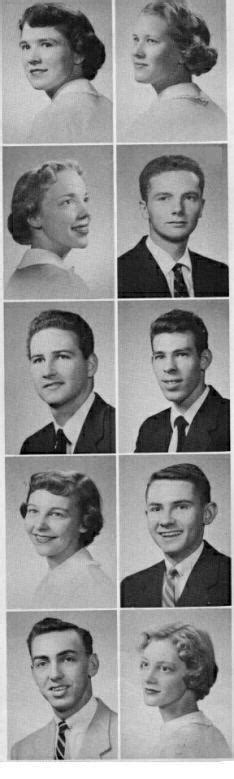 """WWHS Alumni """"1955 Class Roster"""" Page 1 - Portsmouth, VA"""