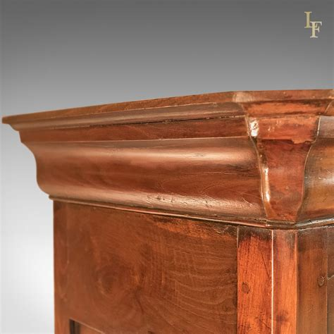 Antique House Keepers Cupboard, French Buffet A Deux Corps