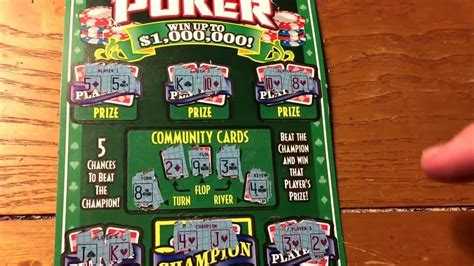 How to play hold em poker scratch off ny