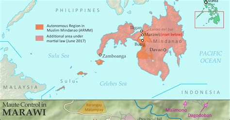 """""""Islamic State"""" in the Philippines? Detailed Control Map"""