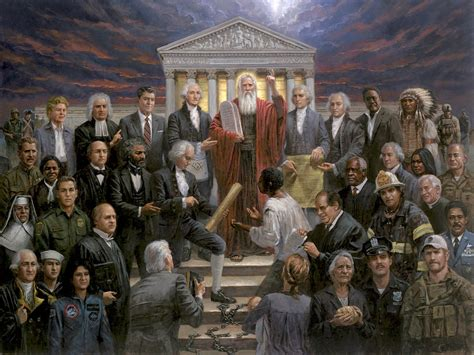 """Jon McNaughton on Twitter: """"This is my painting """"Justice"""
