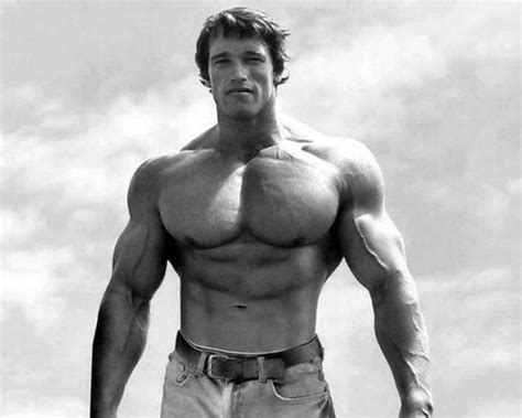 Retro Images of Arnold Schwarzenegger at the Peak of His