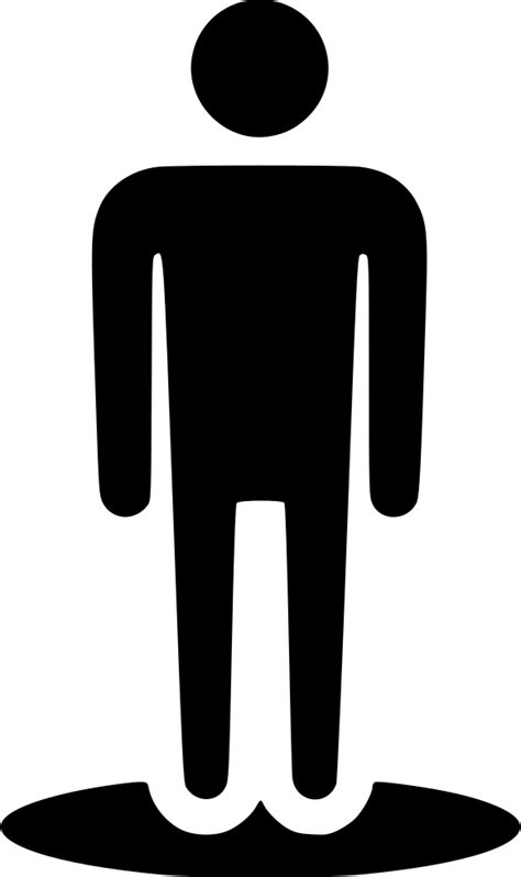 Street View Human Stand Location Male User Svg Png Icon