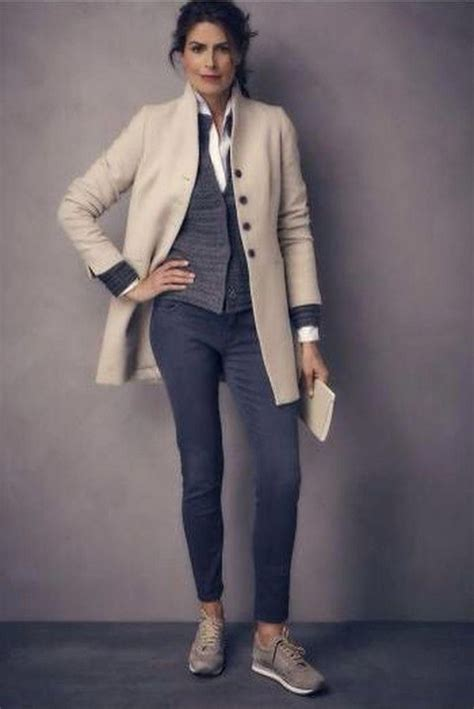 51 Casual Fall Outfits Ideas for Women Over 50 #