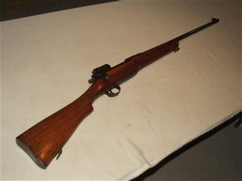 Model Of 1917 Eddystone, Bolt Action Rifle, fore stock