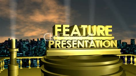 Feature Presentation HD1080: Royalty-free video and stock