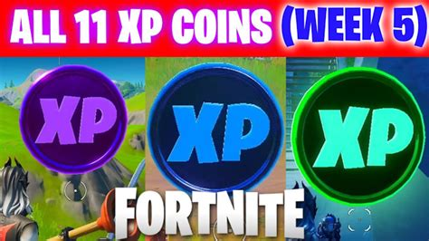 Fortnite Chapter 2 Season 3 Week 5 XP Coins Locations Guide