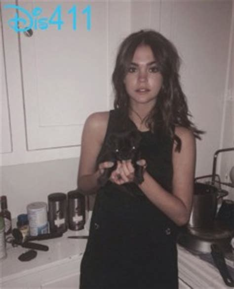 More Adorable Photos Of Maia Mitchell With Sadie February