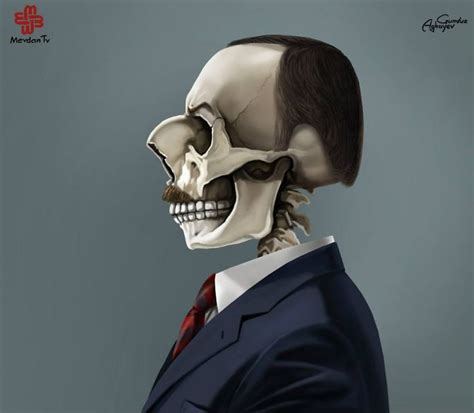 Just Leaders: Creepy Illustrations Of Notorious Leaders By