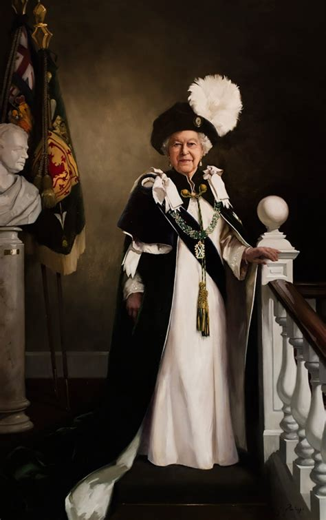 Queen's new portrait is unveiled to mark 90th birthday