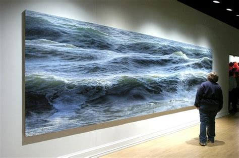 Impressive Photo-Realistic Paintings of Waves