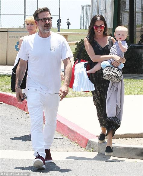 David Arquette's wife Christina McLarty is effortlessly