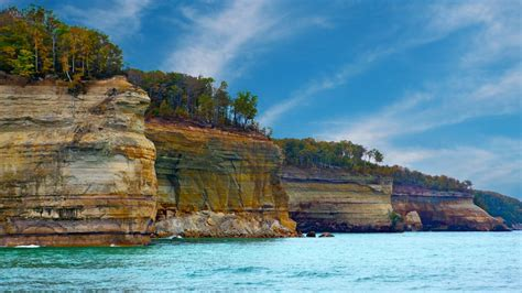 Pictured Rocks National Lakeshore   Visit The USA